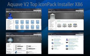 AquaveV2 iconPack Top Inst X86 by Mr-Ragnarok