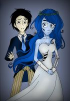 Corpse Bride by MrtViolet