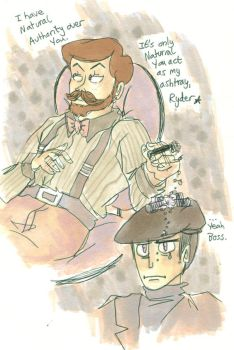 harold ryder and mr.kain by ThirtiesKnight