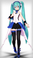 [550 Watchers Gift].:TDA Type 2020 Miku Download:. by ChocoFudge98