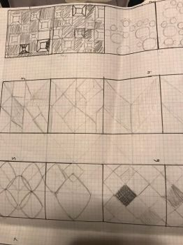 Sketchy Pattern ideas 2 by MyHeartisanOpenBook