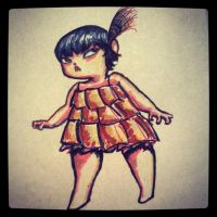 Flapper Cherry by CharlieOleChap