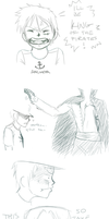 The Hat, Shanks' final troll before leaving Fuusha by FucshiaWillow
