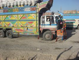 Afghanistan seen through bulletproof glass by Republic69