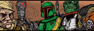 Bounty Hunter Cards By Taylorgarrity by SickSean