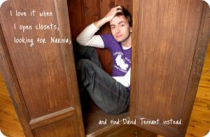 David Closet Wallpaper by NevaehElenath