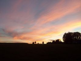Sunset over Yoder Hill by DemonGirl2010