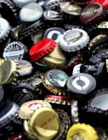 beer bottlecaps 4 by Kvaale