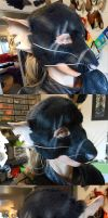 Black Rat LARP Mask by Magpieb0nes