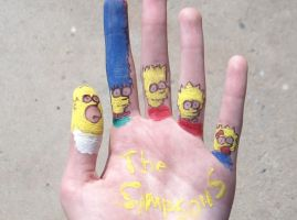 the simpsons by mrobization