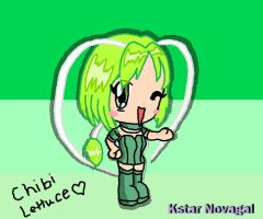 Chibi Mew Mew Lettuce :D by MyMeloGal2