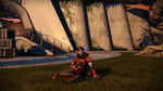 Destiny Warlock - The Red Menace by Aryck-The-One