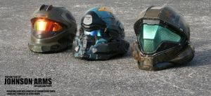 Halo Wearable Replica Helmets by JohnsonArms