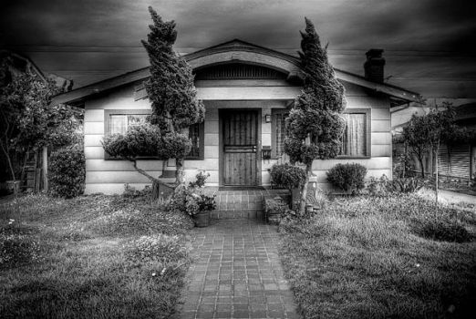 hdr house bw by genofobic