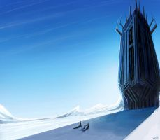 Arctic Tower by JenniferEasley