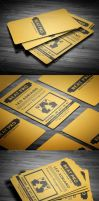 Creative Business Card V2 by calwincalwin