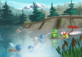 Poliwag by LordChatta