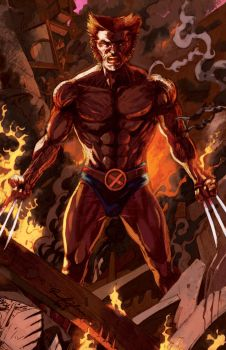 Eroll See's Wolverine by chrisbeaver