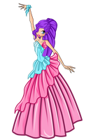 WINX:Sienna Princess Of Domino by caboulla