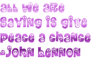 Give Peace a Chance Png by MaddieLovesSelly