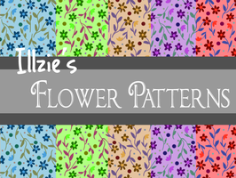 Free to use Flower Pattern by Illzie