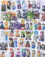 Felt pen doodles 39 by General-RADIX