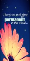 Bookmark: Nothing is Permanent by mylastel