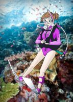 Scuba Girl by thegreatgabby
