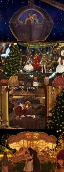 Christmas dates by blanania