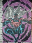 Spiderman 2099 - colored sketch by GOICHIMONJI