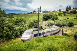 TGV in the canton of Geneva by biohazardfan