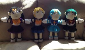 Plush - Eternal outer senshi by purenightshade