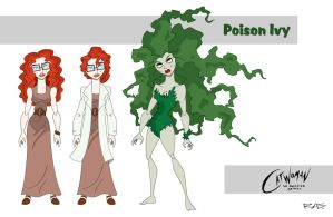 Catwoman: The Animated Series Poison Ivy by rickytherockstar