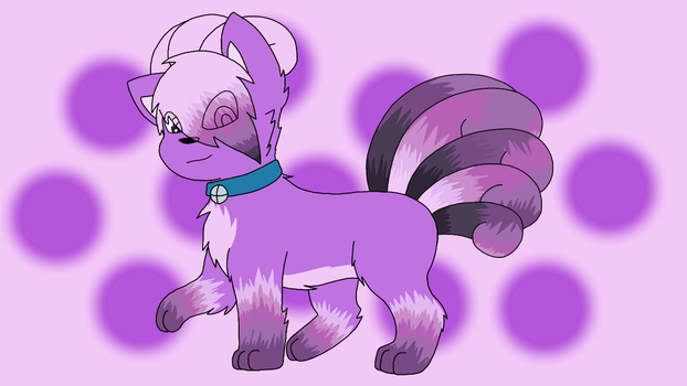Art Trade - Lavender The Vulpix by mishyna