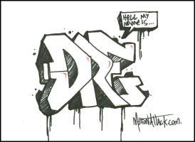 Dre Nick Name by motion-attack