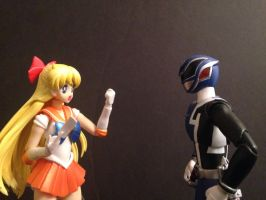 Sailor Venus Gets A Ticket by eternalview