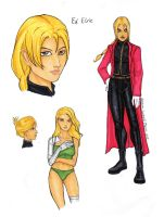 GB - FMA - Ed Elric by ZpanSven
