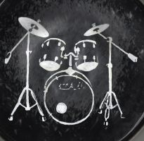 A Drummer's Canvas by Shells124