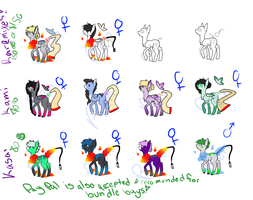 Closed speices adopts: lower prices 7/12 open by Bringmetohell