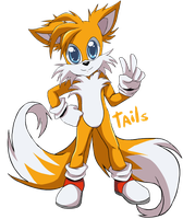 +Tails the fox+ by G-Blue16