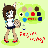{Reference} Fay the Husky by In2ufferablePriick