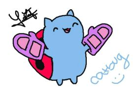 Catbug by Whiskers-the-Cat
