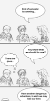 HP strip 1 - end of semester by P-the-wanderer