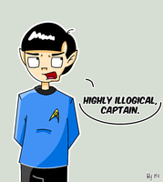 ST: Spock by Nubmuh151