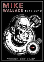 RIP Mike Wallace by BrothaBlu
