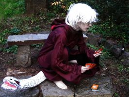 Kabuto Cosplay: With My.... by Yakushi--Kabuto