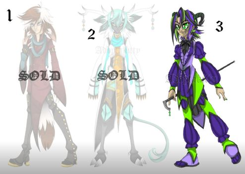 Mythical Adoptables [OPEN] 1 Left! by Adoptakitty