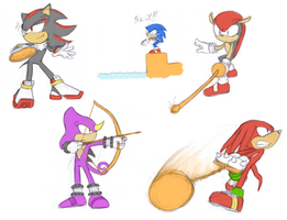 Sonic And Who Olympics by Fuwa2-Kyara