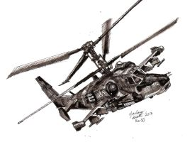 KA-50 Black Shark by shank117