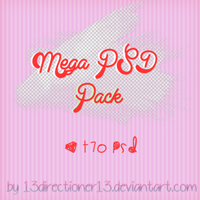 Mega Psd Pack by 13Directioners13